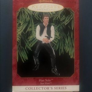 Han Solo Star Wars Collector Hallmark Ornament